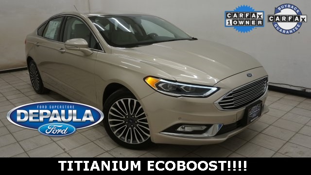 Pre Owned 2017 Ford Fusion Titanium 4d Sedan In Albany 11u2472