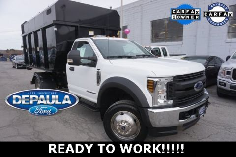 Pre-Owned 2018 Ford F-550SD XL